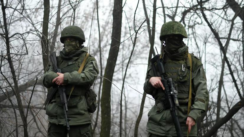 В ДНР обвинили ВСУ в оборудовании новых позиций в Донбассе