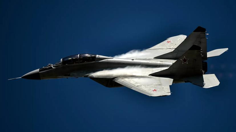 МиГ-29 перехватил самолёт ВВС Норвегии над Баренцевым морем