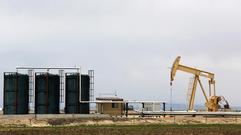 Сырьевое давление: цена нефти Brent впервые с июня опустилась ниже $40 за баррель