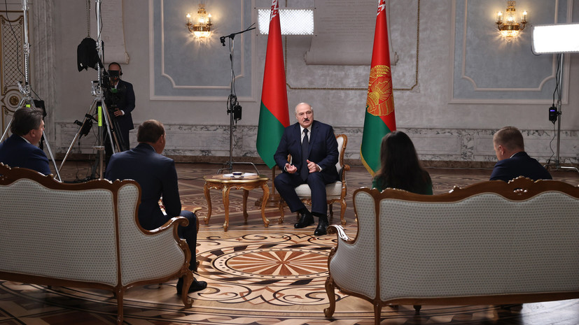 «Моя страна здесь, и я эту страну буду защищать». Полный текст большого интервью с Александром Лукашенко