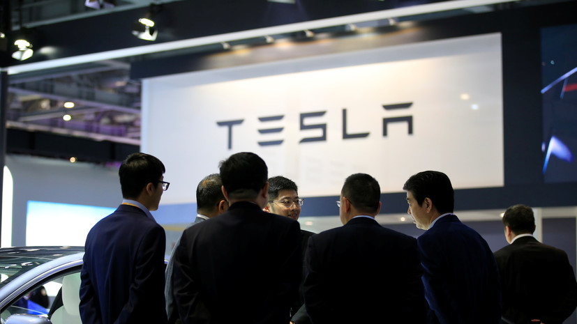 Акции Tesla упали на 21%
