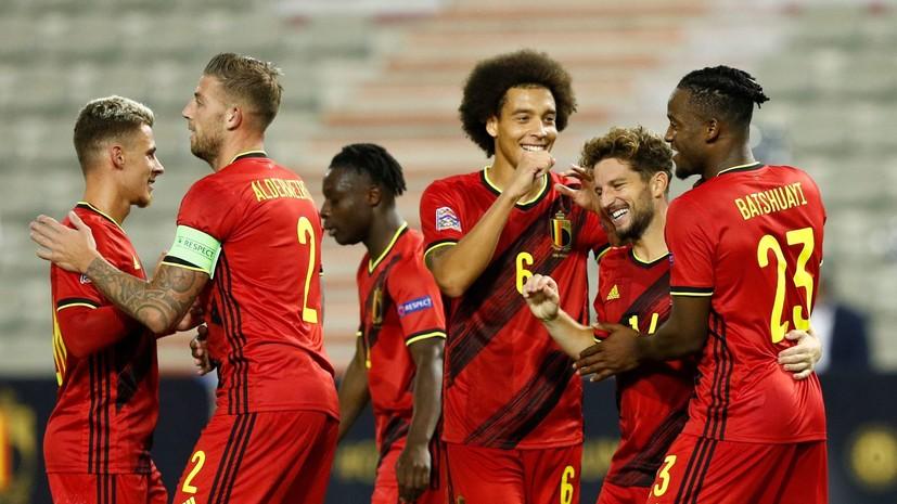 Бельгия разгромила Исландию в матче Лиги наций УЕФА