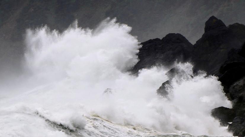 В районе Приморья ввели ЧС из-за тайфуна «Хайшен»
