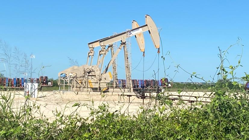 Мировые цены на нефть снижаются в ходе торгов 9 сентября