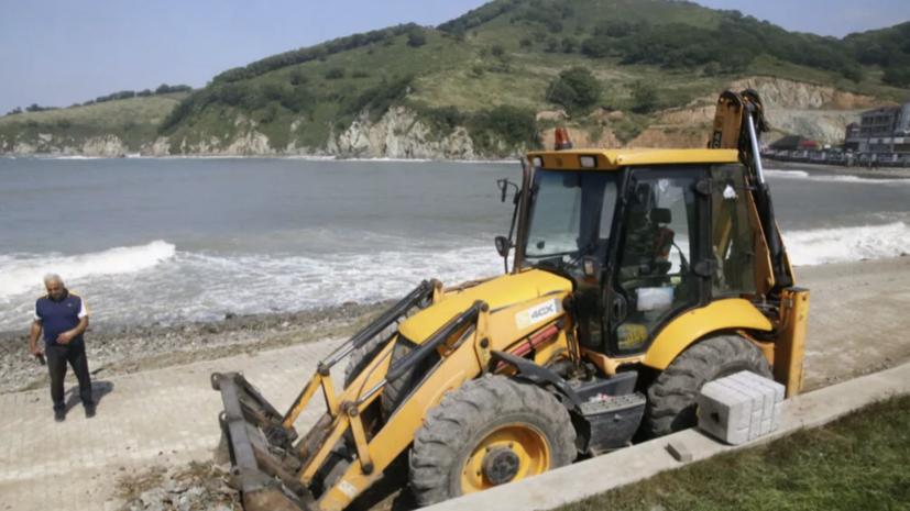 В Приморье из-за тайфунов река Раздольная может выйти из берегов