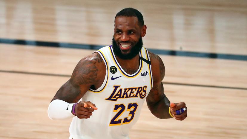 Джеймс установил рекорд по числу побед в плей-офф НБА
