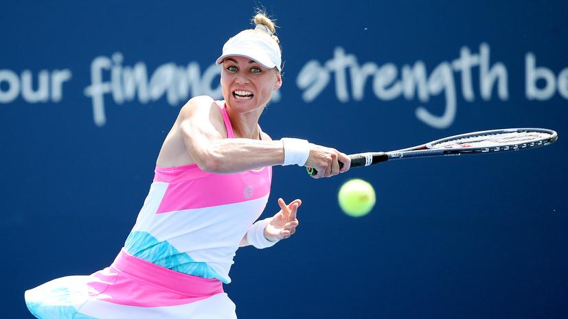 Второй раз в карьере: Звонарёва вышла в финал US Open в парном разряде