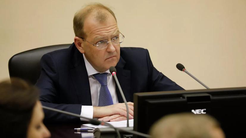 Суд арестовал замминистра энергетики Тихонова