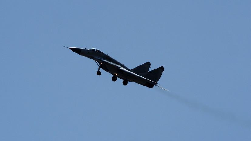 Два МиГ-29 подняли над Баренцевым морем из-за самолётов ВВС Норвегии