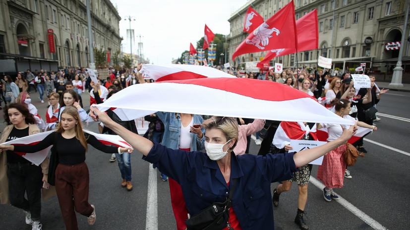 В Минске завели дела на активистов, блокировавших центральные проспекты