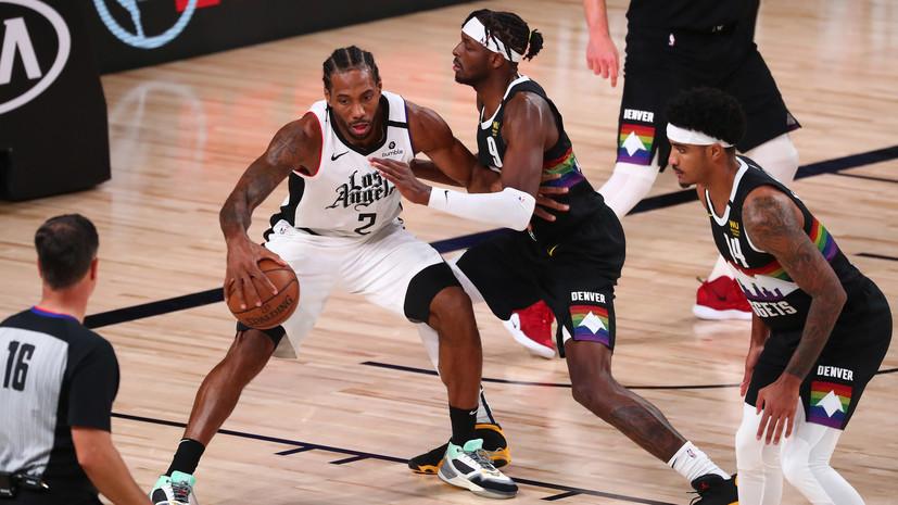 Дабл-дабл Леонарда помог «Клипперс» обыграть «Денвер» в матче плей-офф НБА