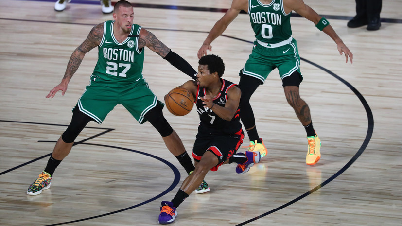 «Торонто» во втором овертайме обыграл «Бостон» и сравнял счёт в серии плей-офф НБА