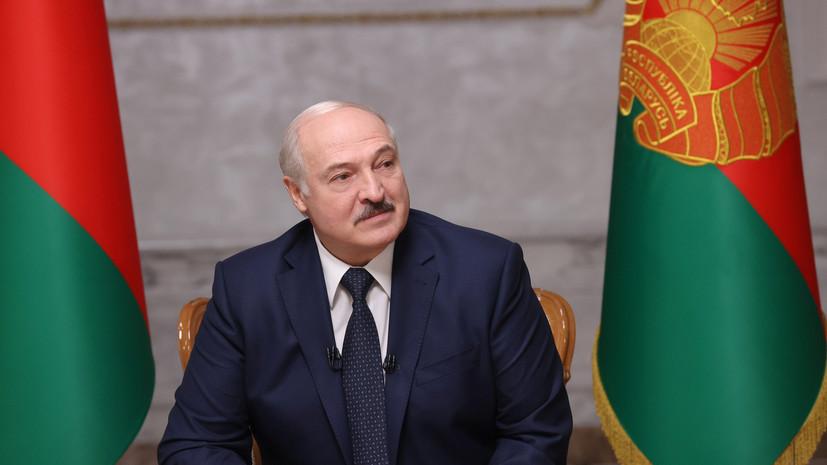 Лукашенко заявил об «остром периоде» в Белоруссии