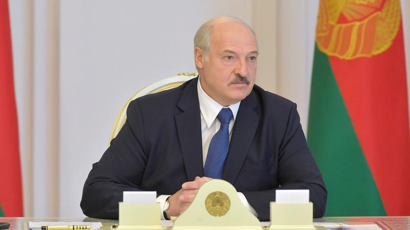 Лукашенко заявил, что не намерен«отдавать власть»