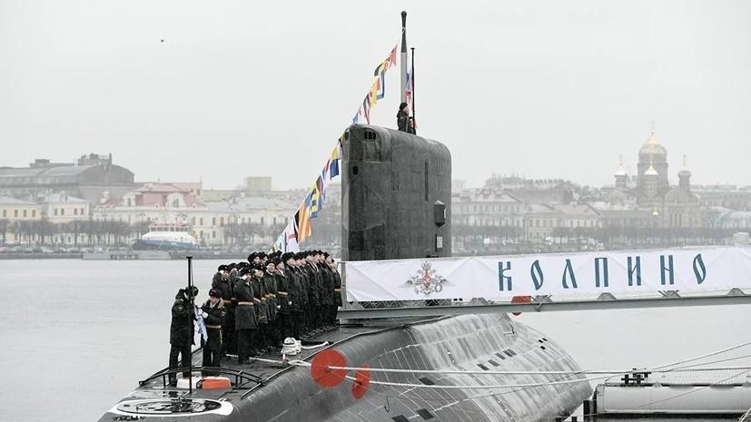 Экипажи подлодки «Колпино» и тральщика «Железняков» ЧФ провели учения