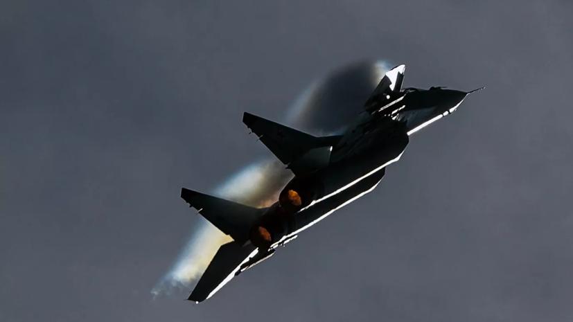 МиГ-29 сопроводил два самолёта ВВС Норвегии над Баренцевым морем