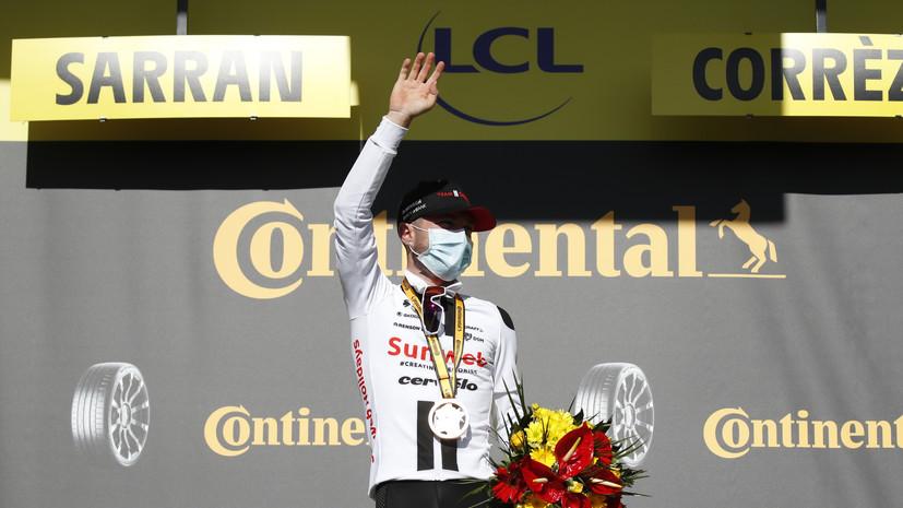 Хирши стал победителем 12-го этапа «Тур де Франс»