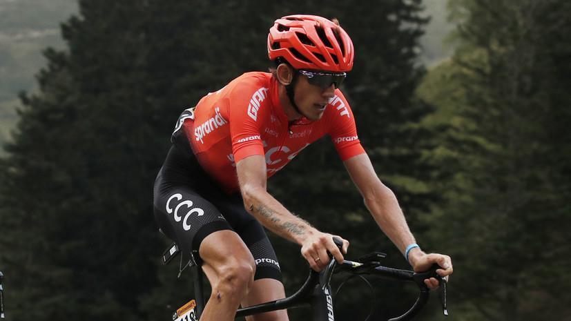 Сошедший с «Тур де Франс» Закарин прокомментировал досрочное для себя завершение многодневки