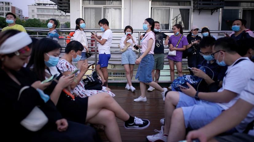 В Китае за сутки выявили 37 новых носителей коронавируса