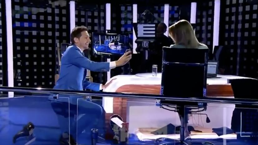 Телеведущей «Матч ТВ» сделали предложение во время прямого эфира