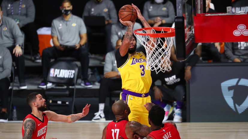 «Лейкерс» установил рекорд в истории плей-офф НБА