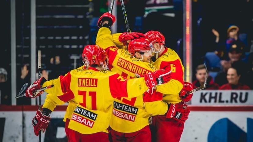 Несколько матчей «Йокерита» в КХЛ отложены из-за возможного заболевания COVID-19 в команде