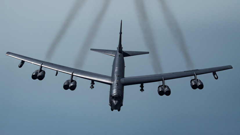 Американские бомбардировщики отработали удары по России