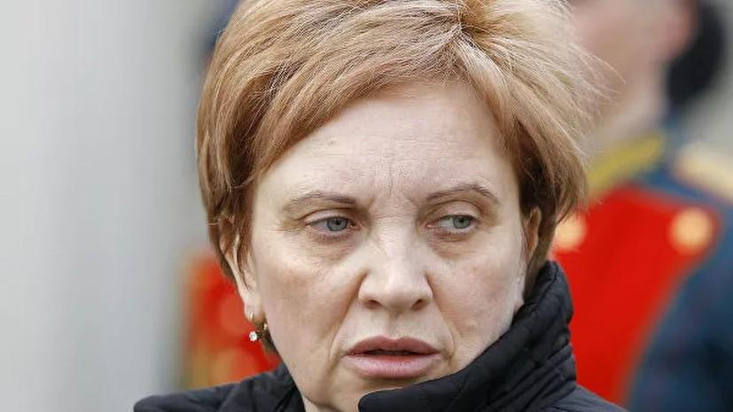 Председатель Мосгорсуда Егорова подала в отставку