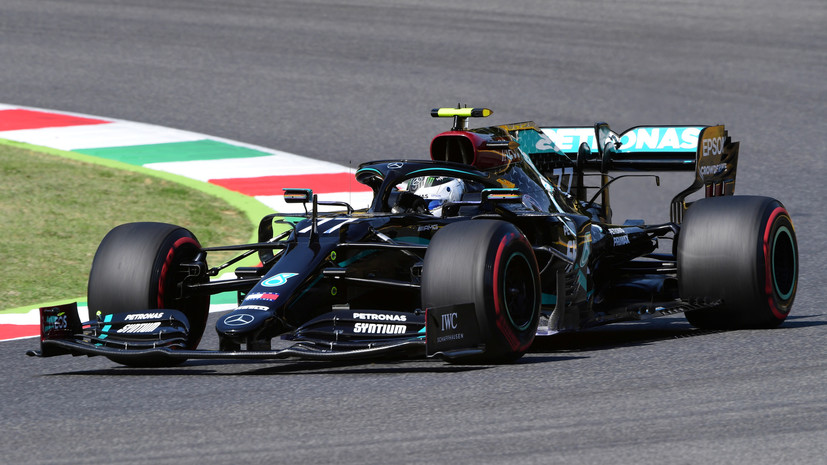 Боттас стал лучшим во второй практике Гран-при Тосканы, Квят — 15-й