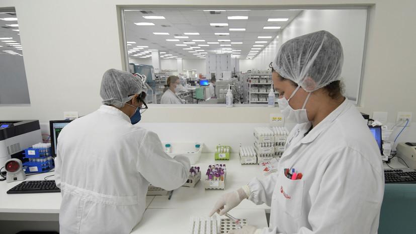 В Бразилии число выявленных случаев коронавируса достигло 4 282 164