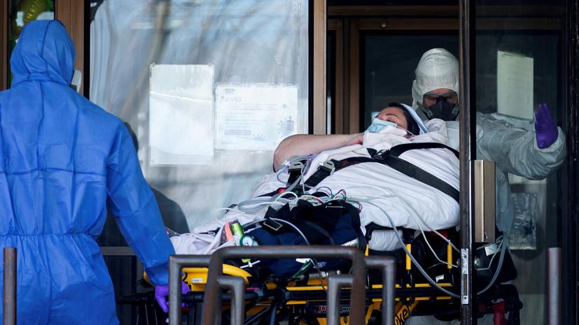 В Канаде число выявленных случаев коронавируса достигло 135 626
