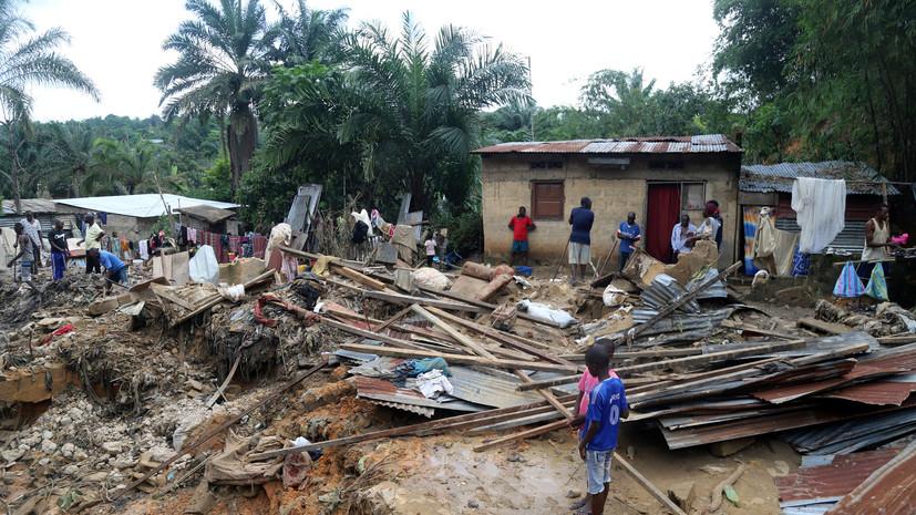 Более 50 человек погибли в ДРК из-за оползней