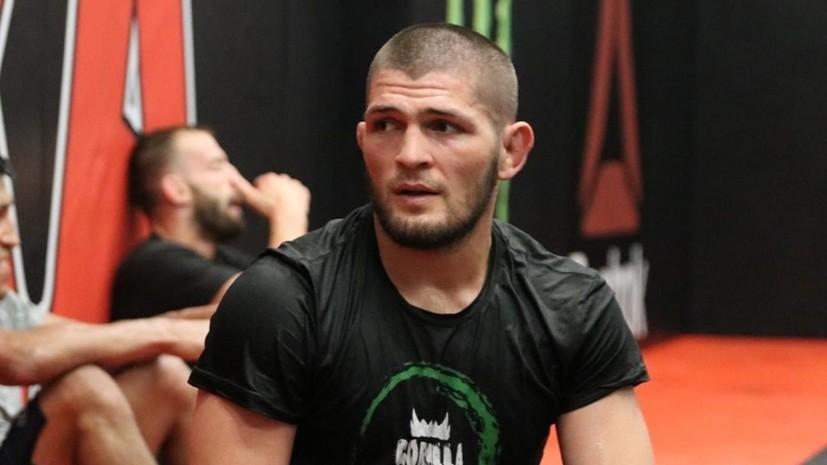 Украинский боец Амосов назвал самого сильного соперника в карьере Нурмагомедова