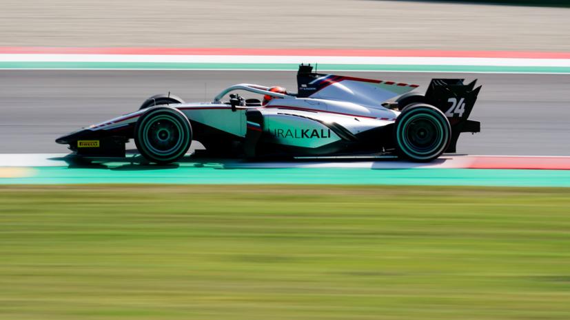 Мазепин выиграл гонку «Формулы-2» в Тоскане