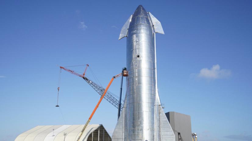 SpaceX готовится к испытательным полётам прототипа корабля Starship