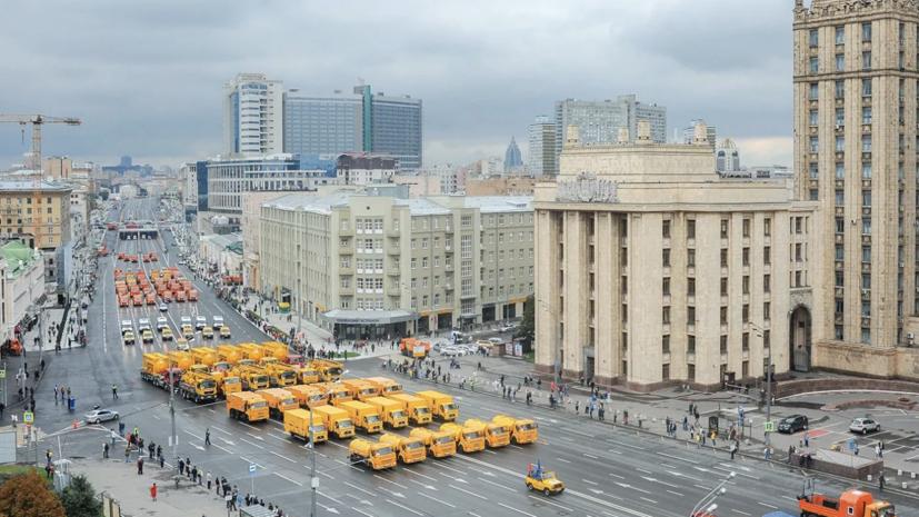 Ряд улиц в Москве перекроют 13 сентября