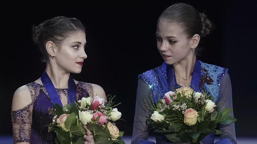 Плющенко заявил, что Косторная и Трусова тренируются по отдельности