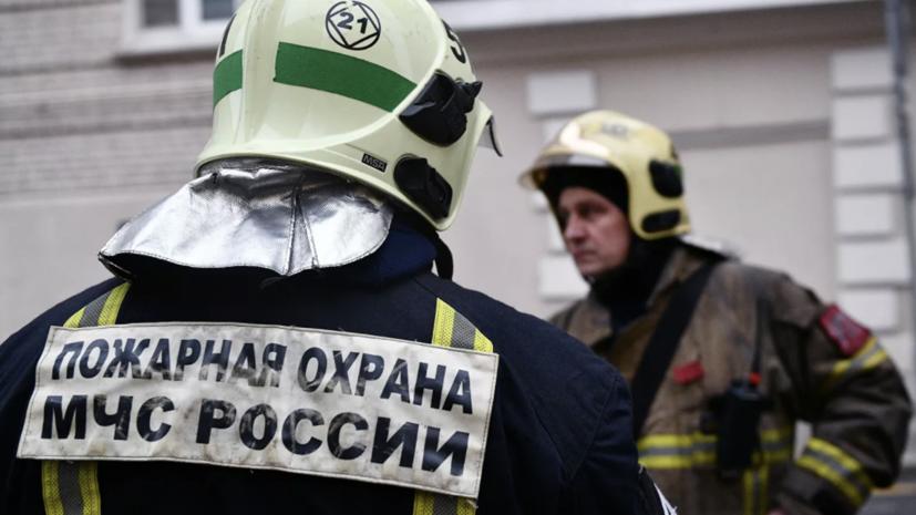 Пожар в доме в Краснодаре локализован