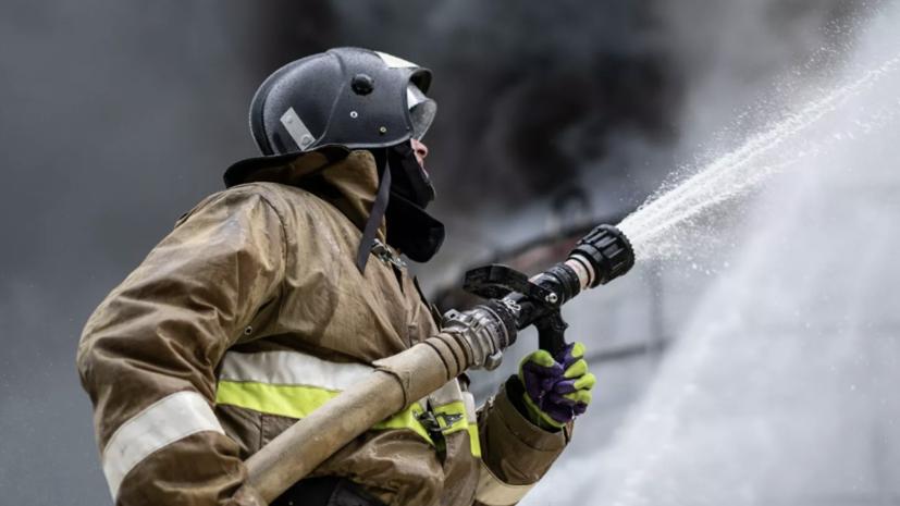 Открытое горение в жилом доме в Краснодаре ликвидировано