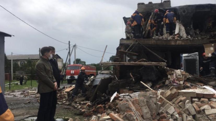 В Приморье жильцы частично разрушенного дома получат новое жильё