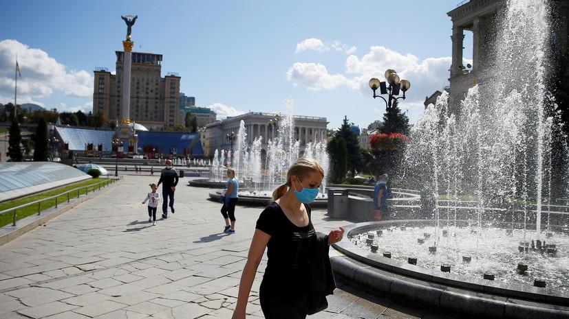 На Украине за сутки выявили 2476 новых случаев коронавируса