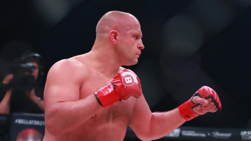 Bellator предложил экс-чемпиону UFC Леснару бой с Фёдором Емельяненко