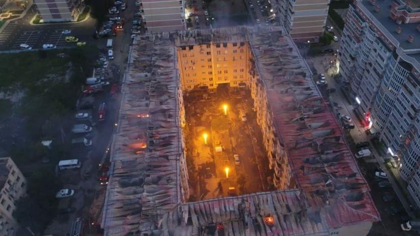 МЧС уточнило число пострадавших при пожаре в Краснодаре квартир