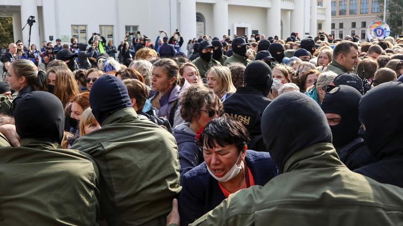 В Минске закрыли семь центральных станций метро