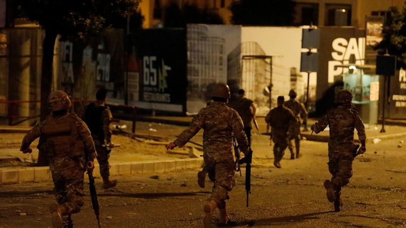 Трое военных Ливана погибли при столкновении с террористами