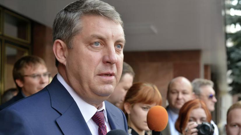 Губернатор Брянской области побеждает на выборах главы региона