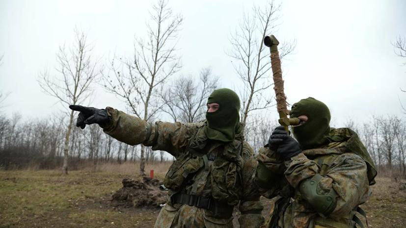 В Тамбовской области прошли учения спецназа ЗВО