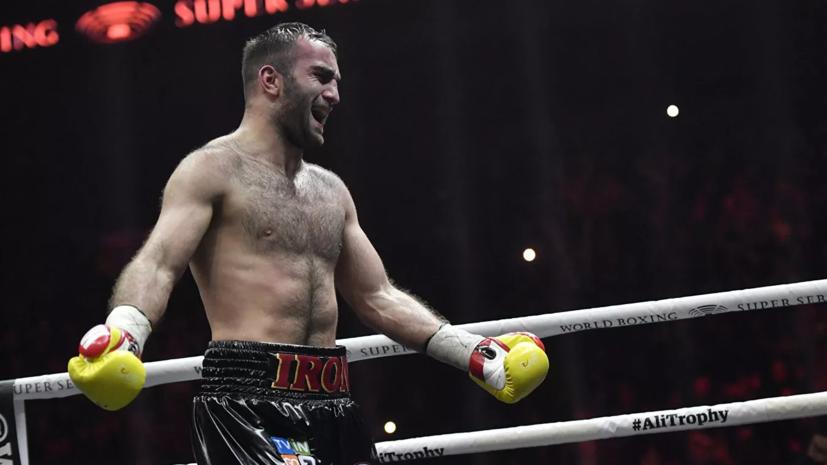 Боксёр Гассиев подготовку к возвращению на ринг после травмы