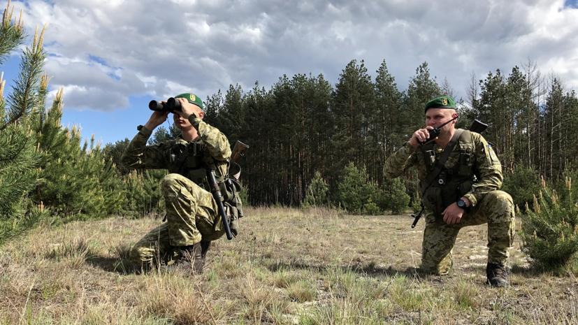 Украина усиливает охрану границы с Белоруссией