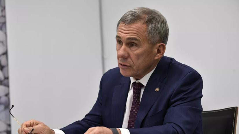 Минниханов победил на выборах главы Татарстана